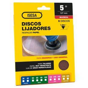 display_discos_lija_madera_papel_5in_isesa_1