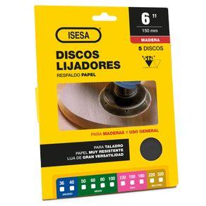 display_discos_lija_madera_papel_6in_isesa_1